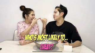 MOST LIKELY TO CHALLENGE (UMAMIN NA CHEATER)