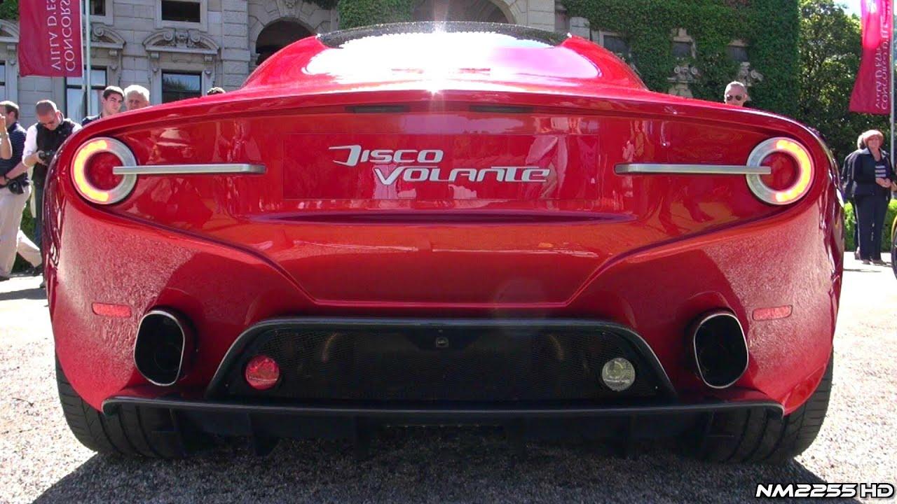 Alfa Romeo Disco Volante >> New Alfa Romeo Disco Volante Amazing V8 Sound