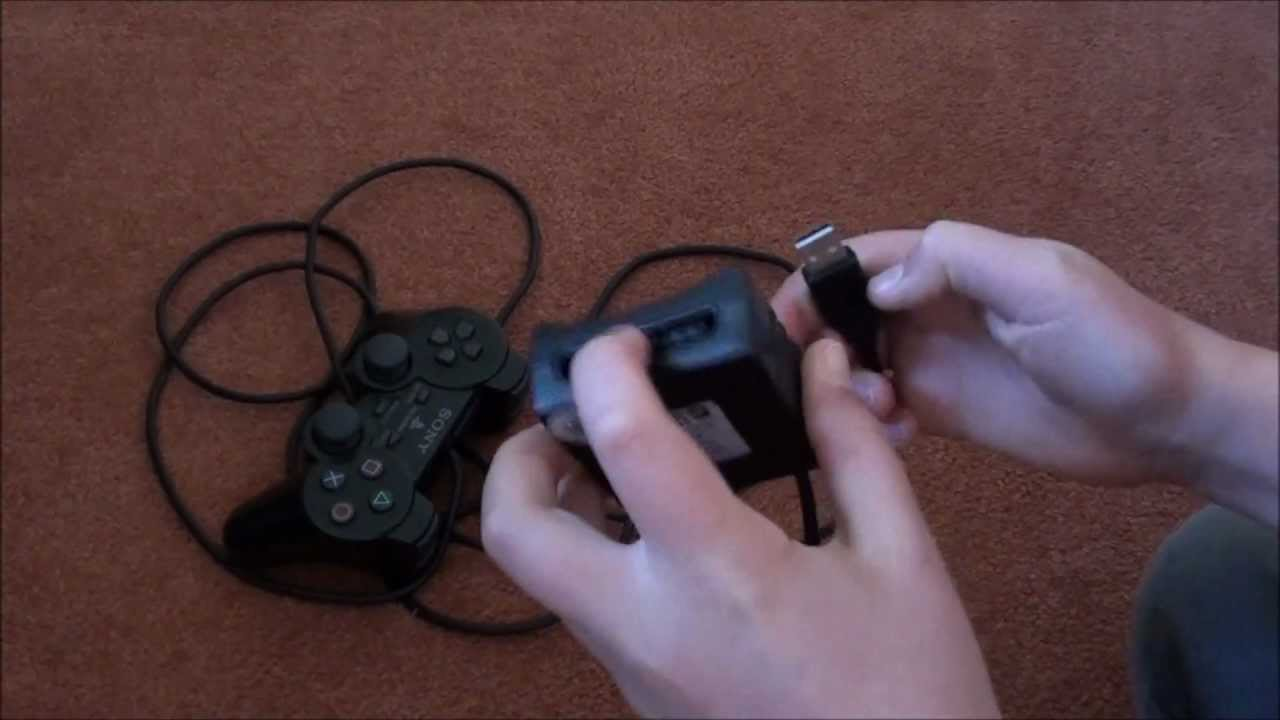 small resolution of connect ps2 controller to pc