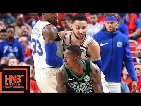 Boston Celtics vs Philadelphia Sixers Full Game Highlights / Game 4 / 2018 NBA Playoffs