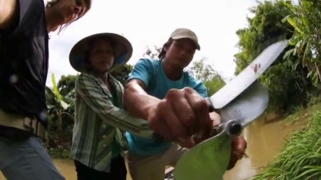 Болотоходы на реке Миконг Вьетнам