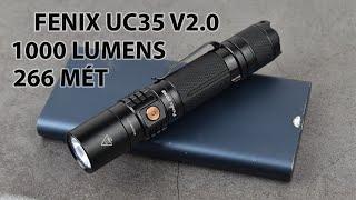 Review đèn pin Fenix UC35 V2.0: 1000 Lumens, nhỏ gọn và rất thực dụng