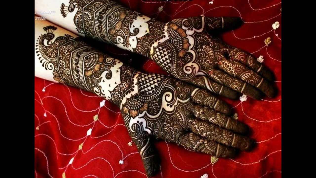 Mehndi Design For Bridal Collection : Latest collection of bridal mehndi designs  youtube