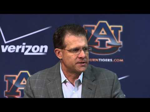 Auburn Head FB Coach Gus Malzahn   1