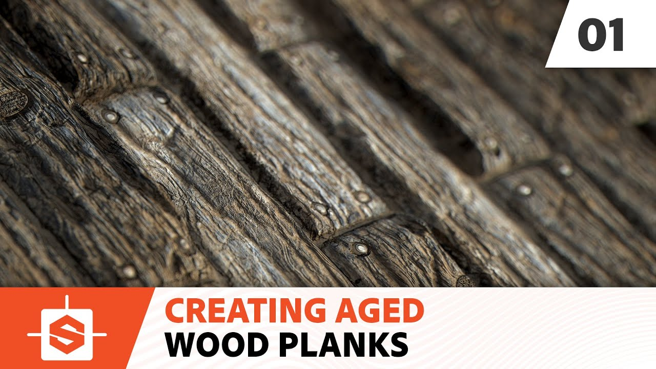 aged wood planks 01 creating the wood pattern youtube