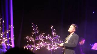 Joe McElderry  - Wonderful Dream -  Holidays Are Coming - Evening Peformance Customs House
