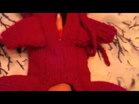 Crochet Вязаный спицами КОМБИНЕЗОН для СОБАКИ своими руками БЫСТРО ДЁШЕВО и СЕРДИТО