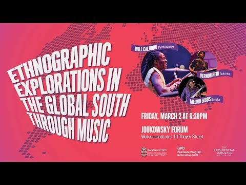 Ethnographic Explorations in the Global South through Music