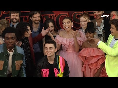 Netflix's 'Stranger Things' Cast Having So Much Fun At Season 3 Premiere
