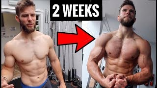 2 weeks no CrossFit: How much my physique changed