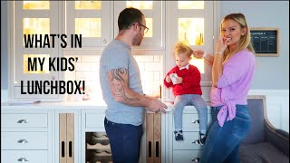 What's in My Kids' Lunchbox!