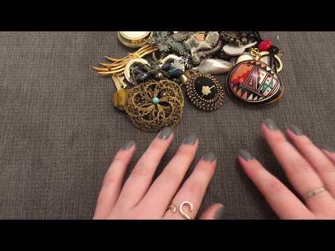ASMR Vintage Jewellery Haul