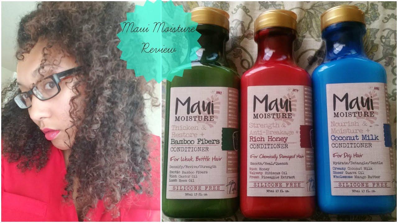New Ulta Product Line Maui Moisture Ashkins Curls Youtube