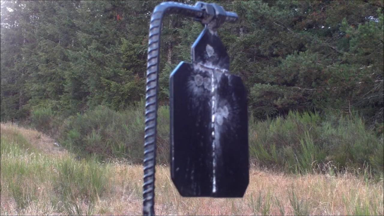 How to Make a Cheap Steel Shooting Target