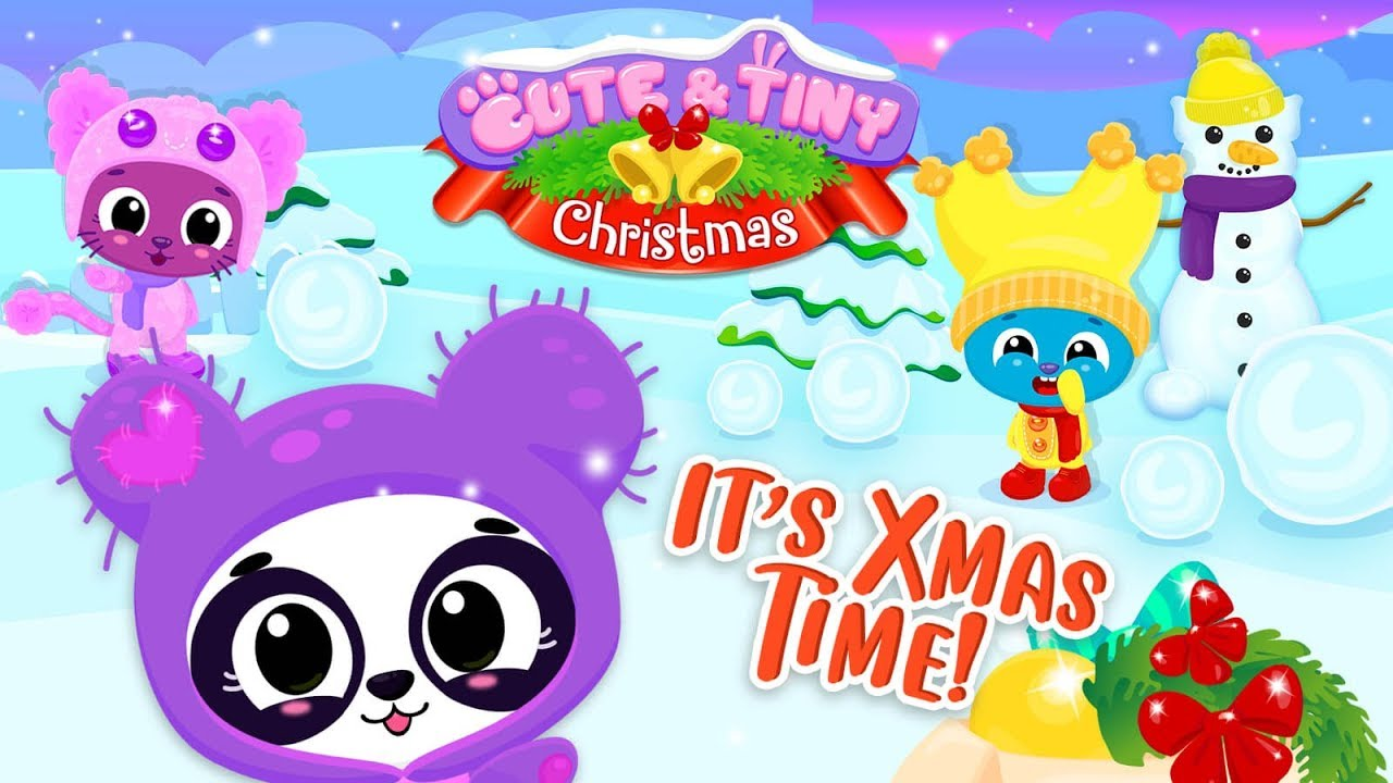 Cute & Tiny Christmas - Winter DIY Fun for Kids ? Mobile Games for Toddlers 9
