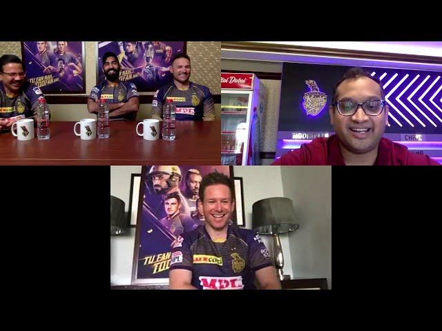 Pre-Match press-conference DK, McCullum, Morgan | KKR vs MI | IPL 2020