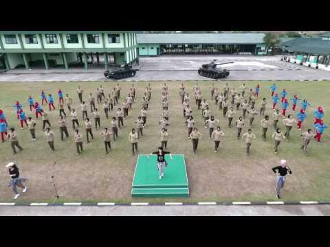 SENAM MAUMERE KODAM III/SILIWANGI 2017