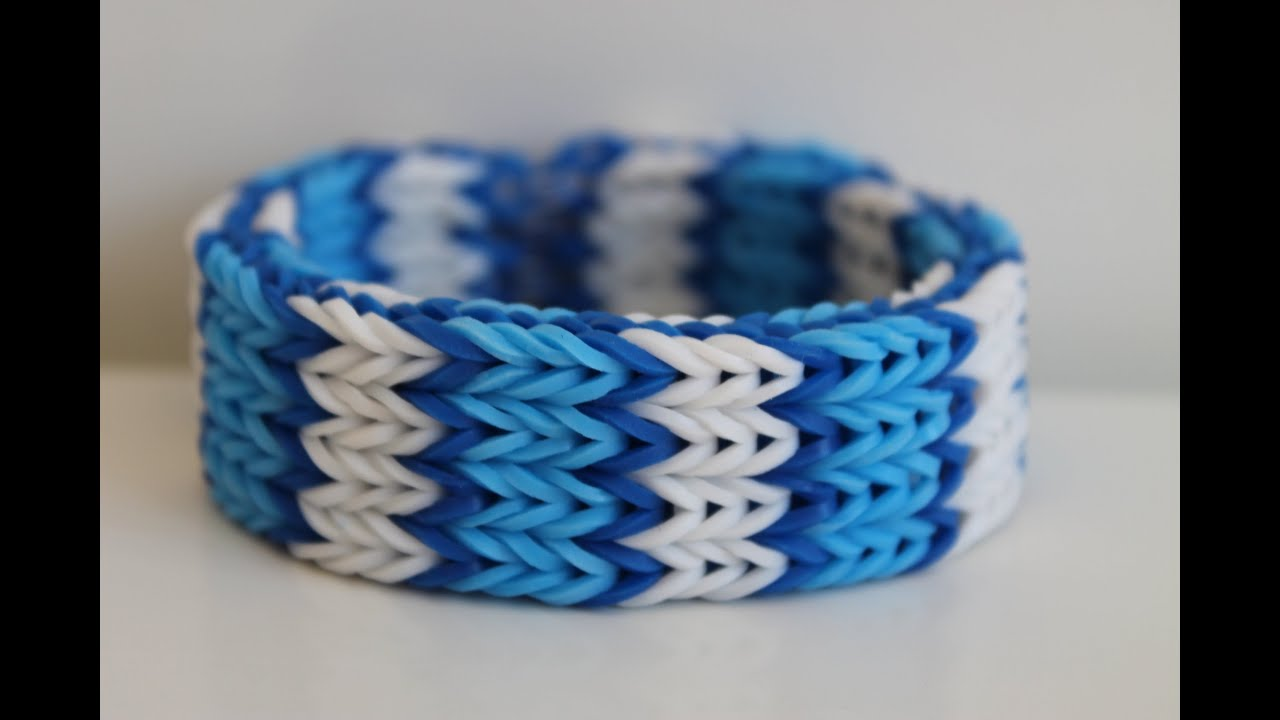Rainbow Loom Nederlands Quadruple Fishtail Youtube