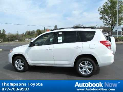 2012 Toyota Rav4 W Upgrade Package In Placerville Ca For