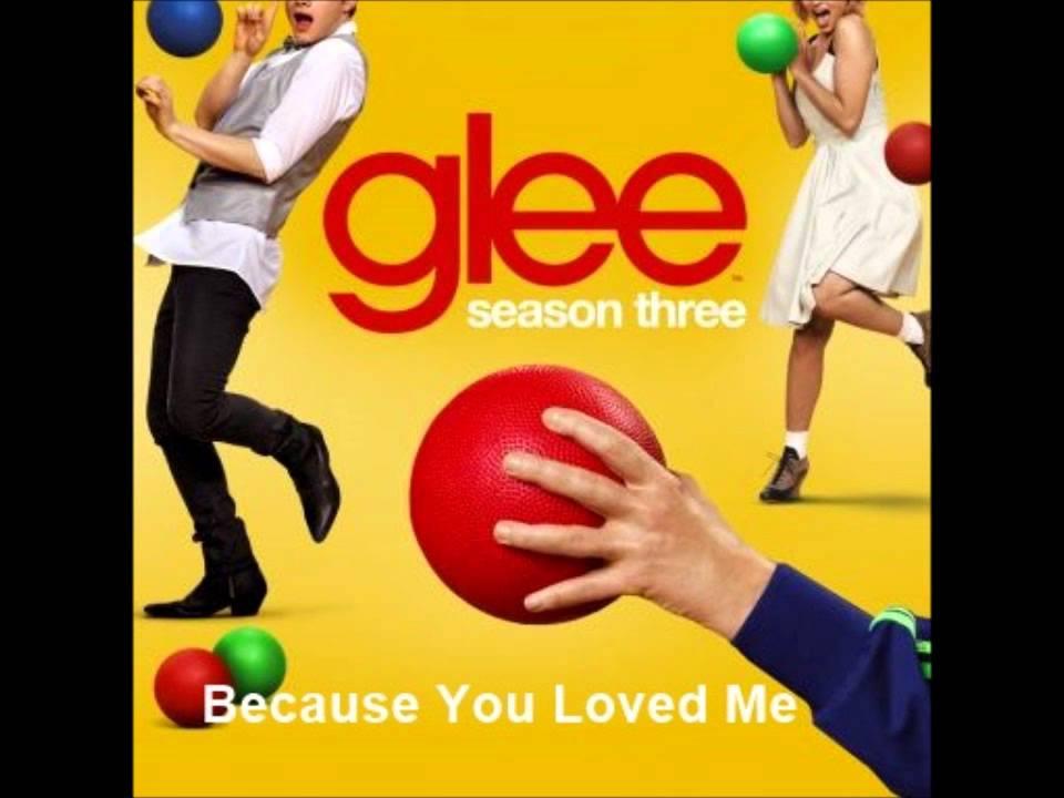 Lyric lyrics to because you loved me : Glee - Because You Loved Me (Lyrics) - YouTube