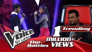The Battles : Timothy Silva V Oneli Viyara | Believer | The Voice Sri Lanka Thumbnail