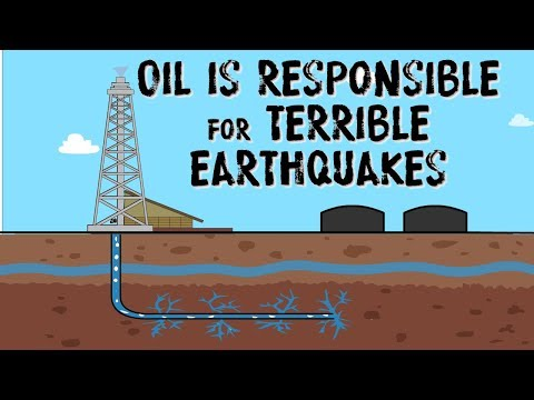 Fracking: Is the frantic search for oil responsible for terrible earthquakes?