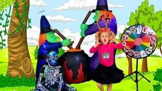 Kiddoz opening Halloween Surprise Toys