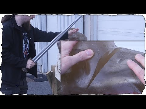 Viking Swords Vs. Ballistic Gel Torso