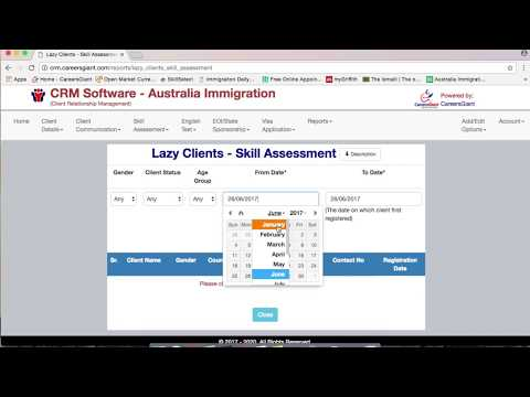 Demo - CRM Software - Australia Immigration