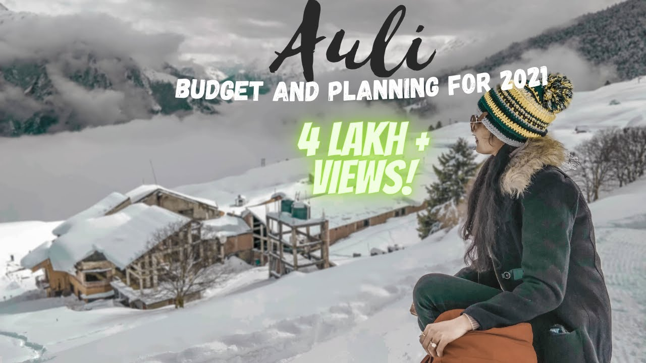 Download Auli Uttarakhand Trip   औली   2021 Travel Guide and Budget Vlog   4K UltraHD   Plan    Tips  