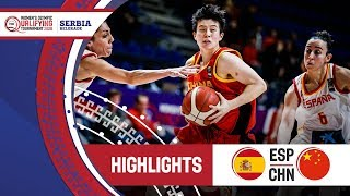 Spain v China - Highlights - FIBA Women