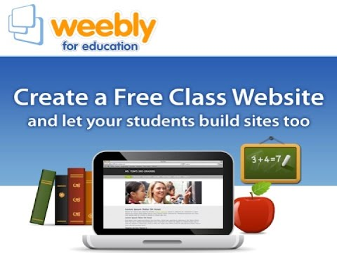 Using Weebly Education Version For Teachers And Students WebNots