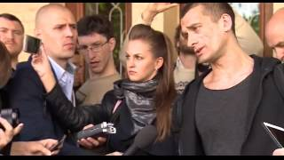 Russian artist Pyotr Pavlensky fined and freed.