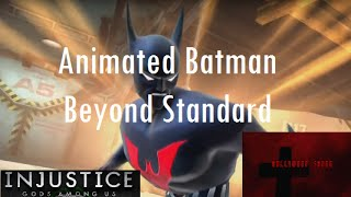 Injustice Gods Among Us iOS Animated Batman Beyond Challenge Full Standard Difficulty