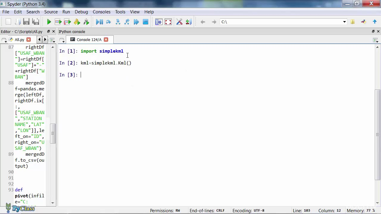 Python for Beginners with Examples - 020 Real world example Generating KML  files