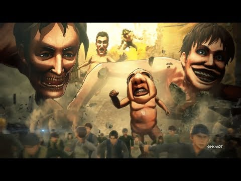 ATTACK ON TITAN 2 - Multiplayer Official Trailer (PS4/XBX/PC/NS) (1080p) | Attack on Titan GAME 2018