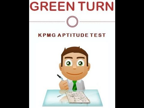 KPMG Aptitude test 2019 numerical Example 2020, verbal tests