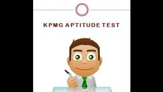 KPMG Aptitude Test: Numerical Reasoning Test and Verbal Reasoning Test