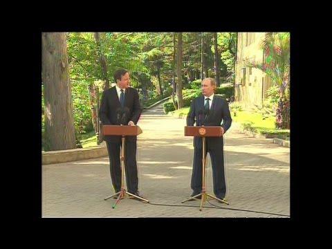 Syrie: Cameron rencontre Poutine