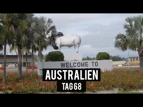 Rockhampton von Oben - Tag 68 - AUSTRALIEN - WORK & TRAVEL - BACKPACKING