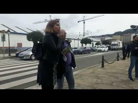 Modepen se moviliza en Marín en contra de la subida del 0,25% de las pensiones