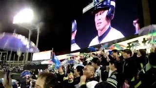 8回裏スワローズ打線 荒木→青木→山田→バレンティン→塩見→西浦→村上 9回...