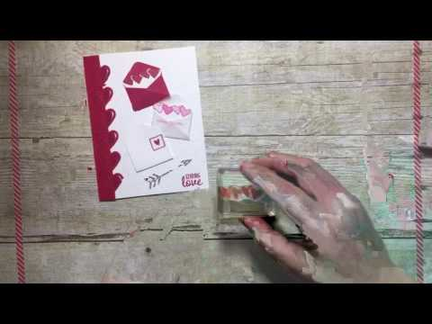 Stampin' Up! Sealed With Love - create fun valentines cards that you can send to friends and family