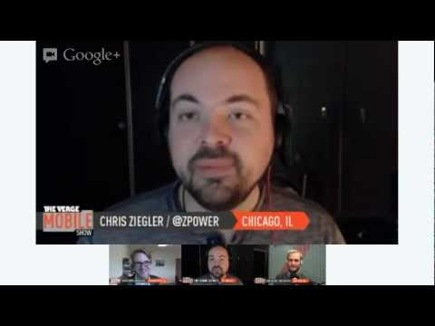 The Verge Mobile Show 026 - November 20th, 2012