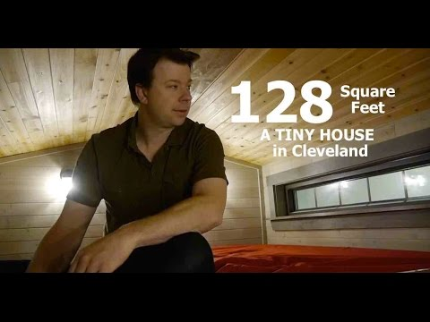 A LOT of TINY HOUSE in only 128 Square Feet! (in Cleveland)