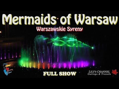 MERMAIDS of WARSAW - Warszawskie Syreny. Complete HD show. Recorded with two cameras.