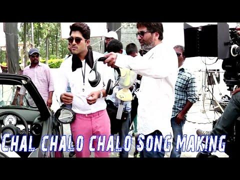 Son of Satyamurthy || Chal chalo chalo Song Making - llu Arjun, Trivikram Srinivas, Samantha