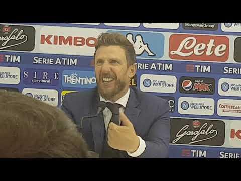 """Conferenza Di Francesco post Napoli: """"I cambi obbligati ci hanno tolto palleggio"""""""