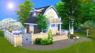 Grandparents Tiny House // Sims 4 Speed Build