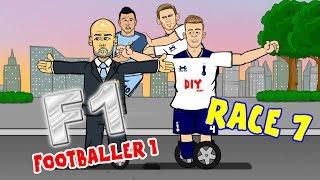 Footballer 1 - RACE 7! (Tottenham vs Man City 2-0, Koscielny handball and more)